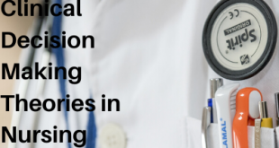 Clinical Decision Making Theories in Nursing Practices