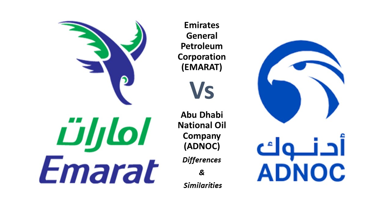 Differences and Similarities Between ADNOC Vs. EMARAT
