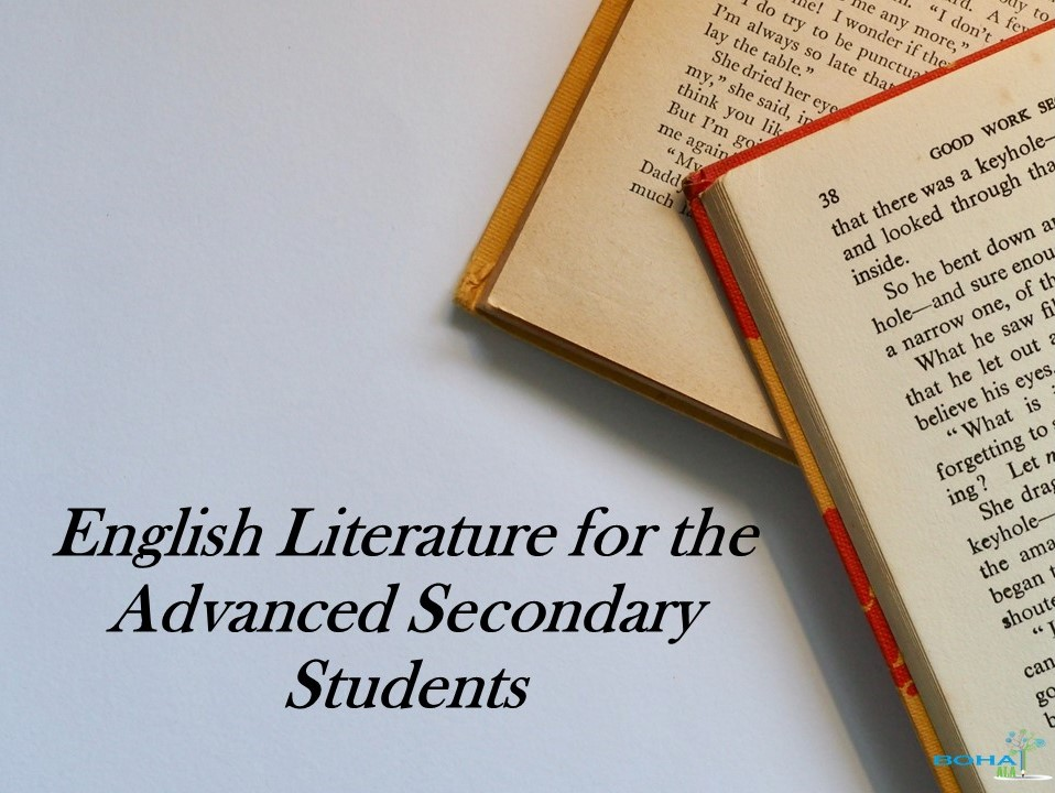 English Literature for the Advanced Secondary Students