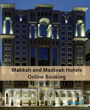 Online Booking in Makkah Madina Hotels