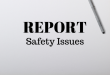 Workplace Safety Issues Report Memo