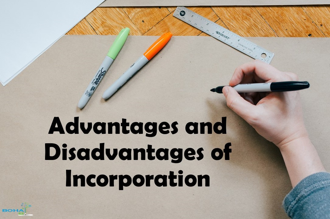 Advantages and Disadvantages of Incorporation