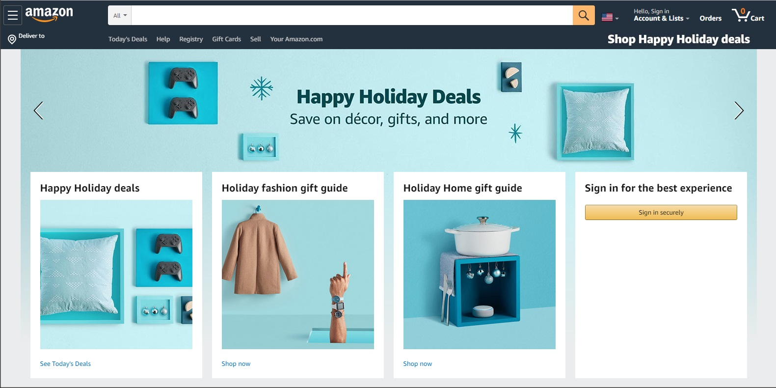 Amazon Website Analysis Example