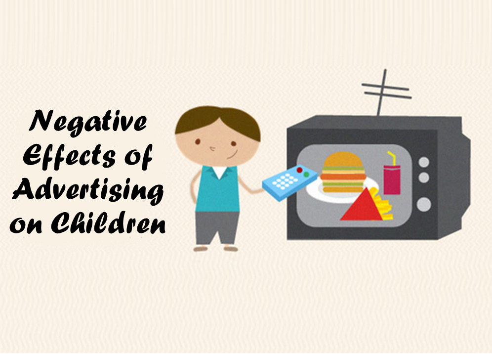 Negative Effects of Advertising on Children
