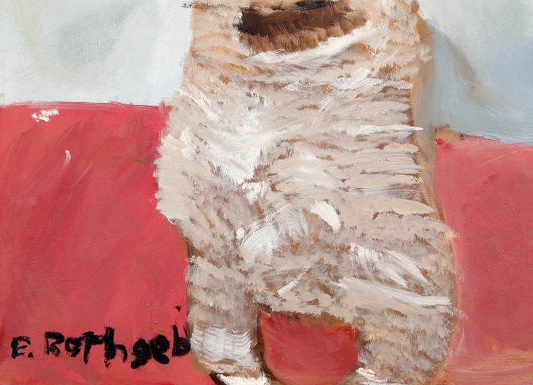 Ronan the Pug (Erin) Painting Analysis