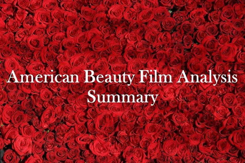 American Beauty Film Analysis Summary