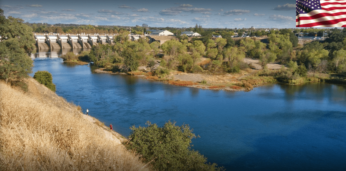 American River and the Nimbus Fish Hatchery