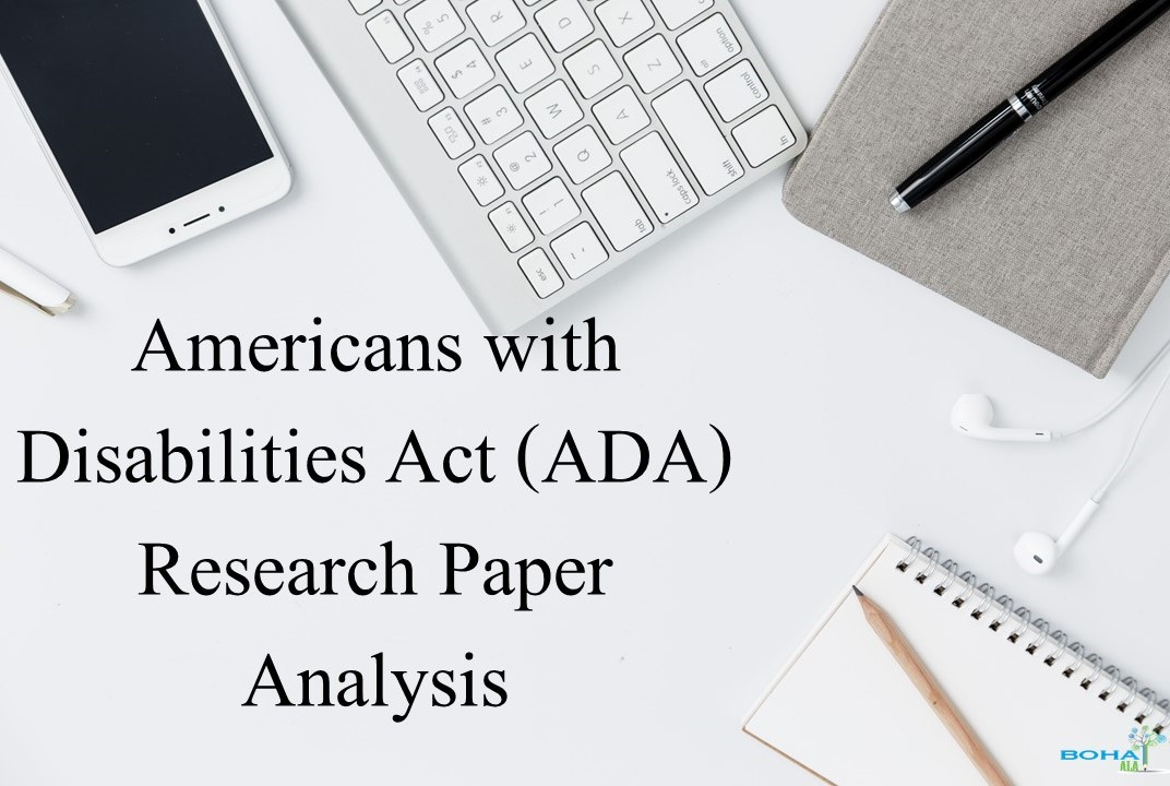 Americans with Disabilities Act (ADA) Research Paper Analysis
