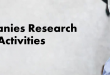Companies Research Activities