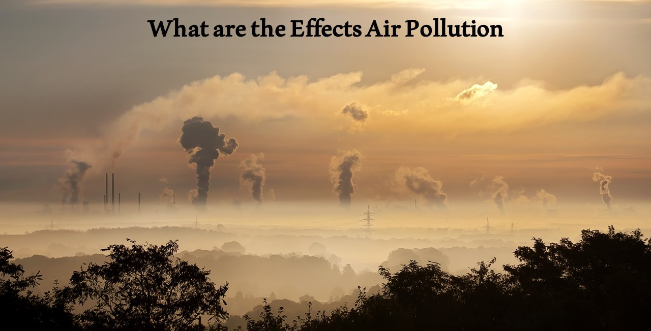 What are the Causes and Effects Air Pollution