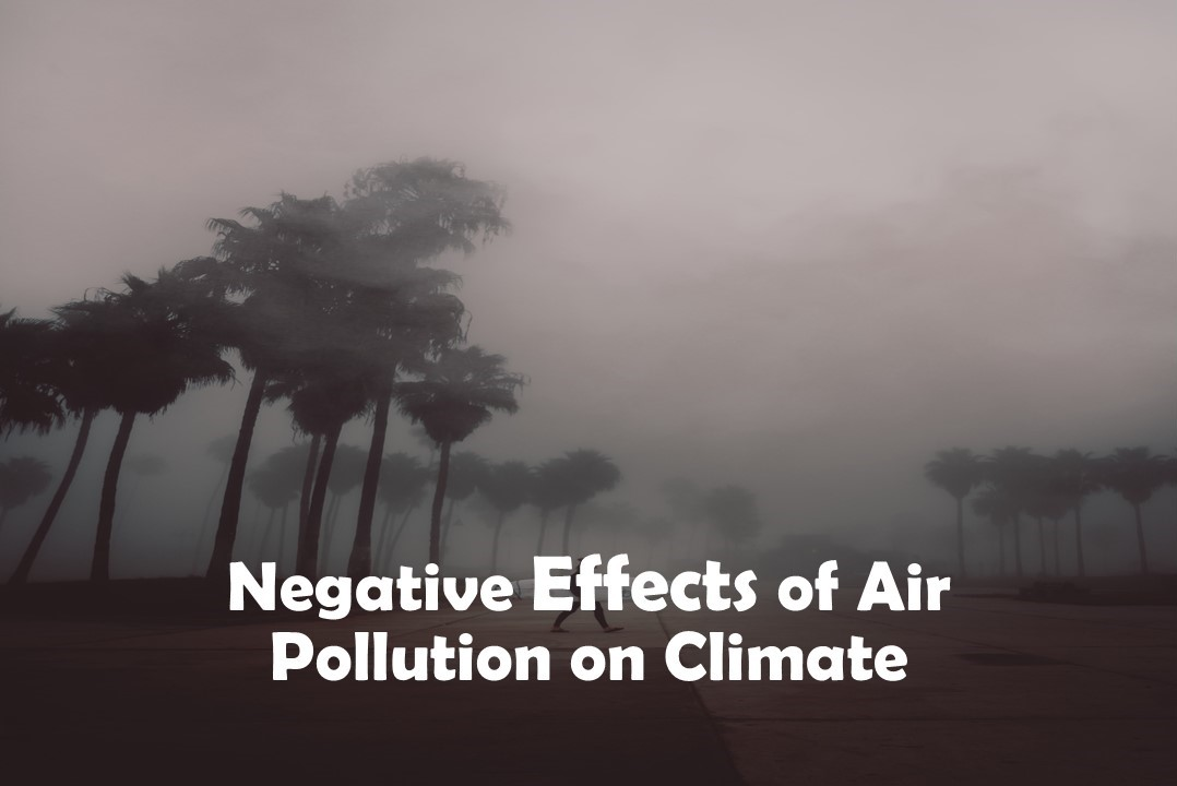 Negative Effects of Air Pollution on Climate