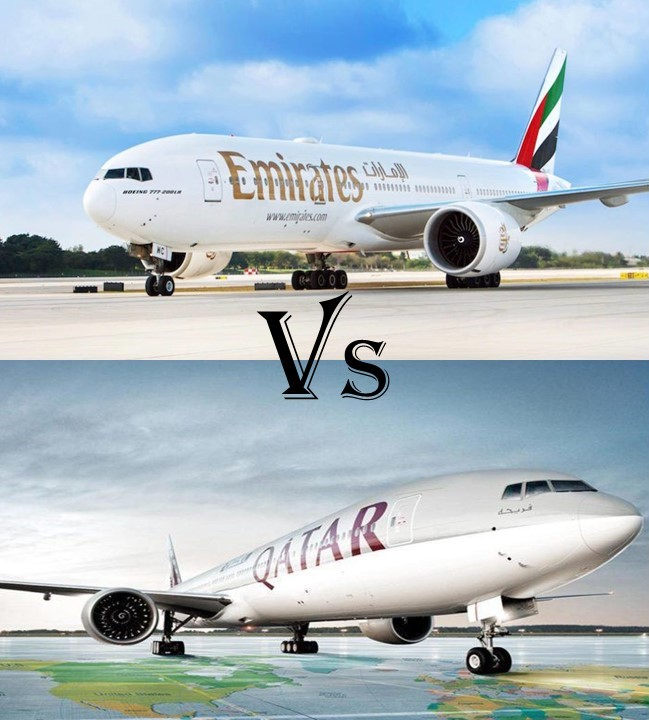 Comparison Between Emirates Airlines and Qatar Airways
