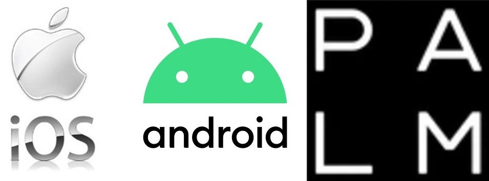Differences between iOS, Android and Palm Operating Systems