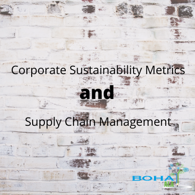 Corporate Sustainability Metrics and Supply Chain Management