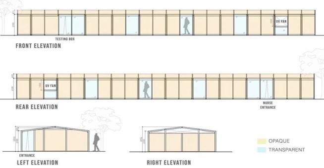 Elevation of Shelter