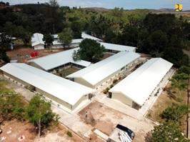 New COVID-19 emergency hospital built on uninhabited island, Indonesia